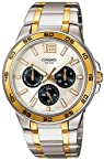 Casio Standard Luminous Analog Silver Dial Men's Watch - MTP-1300SG-7AVDF (A486)