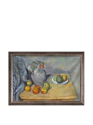 Paul Cézanne Pichet et Fruits Sur une Table