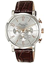 Kenneth Cole Dress Sport Analog Silver Dial Men'S Watch - 10020827