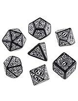 Steampunk Dice Black/White (7 Stk.) Board Game
