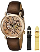Stuhrling Original Women's 109Set Amour Aphrodite Cupid Automatic Skeleton Watch Set