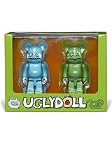 Uglydoll Bearbricks: Ice-Bat & Ox