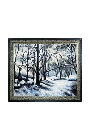 Paul Cézanne Melting Snow, Fontainebleau