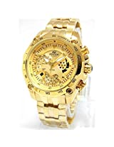 Casio Edifice EF550D Full Gold Watch