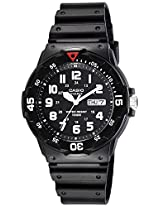 Casio Enticer Analog Black Dial Men's Watch - MRW-200H-1BVDF (A595)