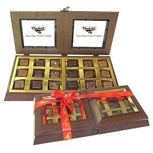 Belgium Chocolates - 18 PC Delightful Chocolate Box
