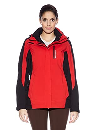 Northland Professional Giacca Exo Lxt Str Kaisy Combi (Rosso/Nero)