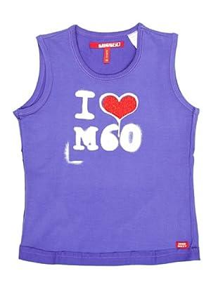 Miss Sixty Kids Camiseta I Love 60 (Lila)