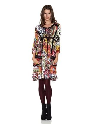 Peace & Love Vestido Chaozhou (Multicolor)