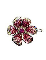 B-Fashionable Blooming Flower Wire Clasp Hair Pin