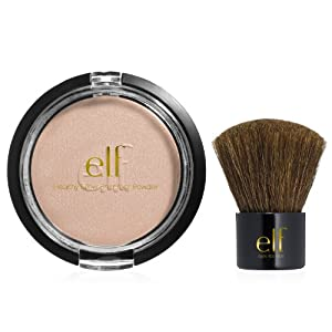 e.l.f. Bronzer and Mini Kabuki Brush Set