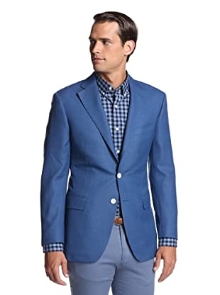 Nikky Men's 2-Button Sport Jacket (Mid Blue)