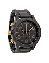 Nixon 51-30 Chrono Graph Matte Black Analog Men's Watch - Nxa0831041