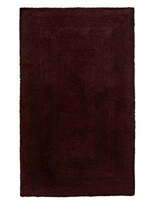 Terrisol Reversible Cotton Bath Rug (Chocolate)