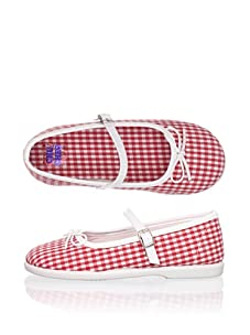 Chuches Kid's Mary Jane (Red)