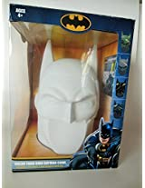 Color Your Own Batman Cowl Hard Shell Plastic