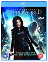 UNDERWORLD - AWAKENING - 3D BLU-RAY - FOR REGION B PLAYERS ONLY