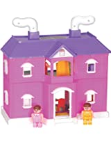 Toyzone My Family Doll House, Multi Color