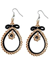 Designer's Collection Paper Quilling Ear Rings for Women-DSERA003_B