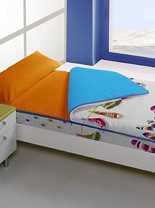 Manterol Casa Edredón Ajustable (Multicolor)