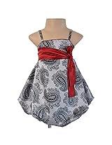 Faye Grey & Black Balloon Dress