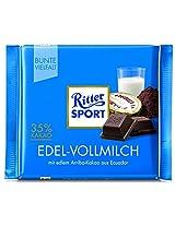 Ritter sport fine milk Choclate, 100g