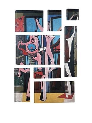 Pablo Picasso Three Dancers 8-Piece Giclée Canvas Print