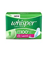 Whisper Ultra Clean - XL Wings (7 Pads)