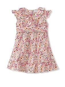 KANZ Girl's Belted Sundress (Multi)