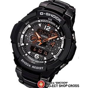 【クリックで詳細表示】カシオ Gショック GW-3500BD-1AER スカイコックピット ソーラー 電波 G-SHOCK CASIO ブラック [逆輸入品]