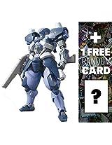 Sth 05 Hyakuren: Gundam Iron Blooded Orphans High Grade 1/144 Model Kit + 1 Free Official Japanese Gundam Trading Card Bundle (Hgibo #006)