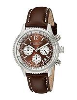 Stuhrling Original Analog Brown Dial Men's Watch - 669.03