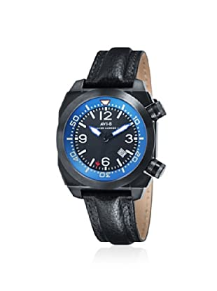 AVI-8 Men's AV-4005-04 Hawker Harrier II Black/Blue Watch