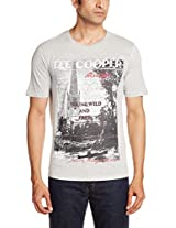 Lee Cooper Men's Cotton T-Shirt