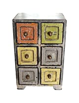 Jodhpur Summers Wooden Storage Chest (5 x 4 x 8 Inches)