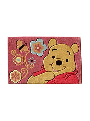 ABC Tappeti Alfombra Disney Top Line (Winnie Rojo)