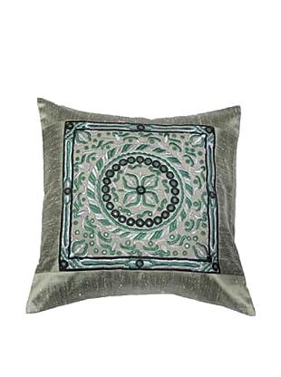 Mela Artisans Gaya  Cushion Cover (Grey)