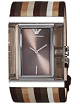 Emporio Armani Analog Brown Dial Women's Watch - AR7311