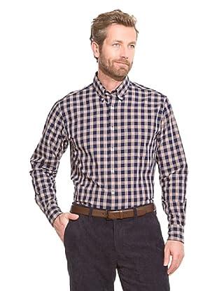 Cortefiel Camisa Twill (Azul Marino)