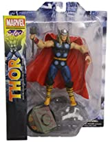 Diamond Select Toys Marvel Classic Thor Action Figure, Multi Color