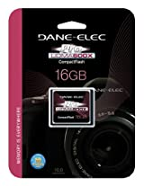 DANE ELECTRONICS Pro High Speed CF 16GB Memory Card (DA-CF6016G-C)