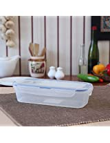 Lock & Lock Clear Slender Container With Flip Lid