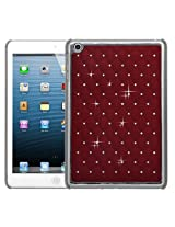 MyBat Back Protector Cover with Diamonds for iPad mini, Red (IPADMINIHPCBKELDZDI202NP)