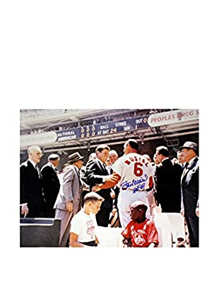 Steiner Sports Memorabilia Stan Musial With JFK Signed Photo, 16