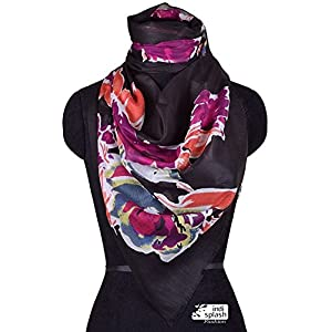 Indisplash Fashion Floral Scarf