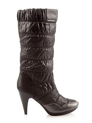 Fornarina PIFGS7616WV00 - Botas de nailon para mujer (Negro)