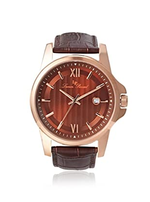 Lucien Piccard Men's 10048-RG-04 Breithorn Brown Leather Watch