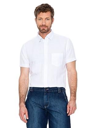 Cortefiel Camisa Lino (Blanco)