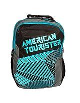 American Tourister Code 03 Black/Blue Backpack