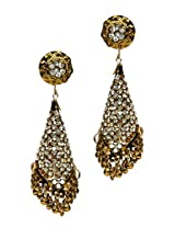 Shine My Life Golden Color Copper Jhumki Earring for Women SMLER103